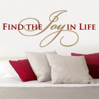Find the Joy Wall Decal