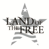 Land of the Free Wall Decal   DecalMyWall.com
