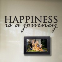 Happiness is a Journey Wall Decal   DecalMyWall.com