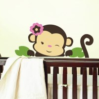 Monkey Wall Decal | DecalMyWall.com