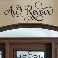 Au Revoir Wall Decals   DecalMyWall.com
