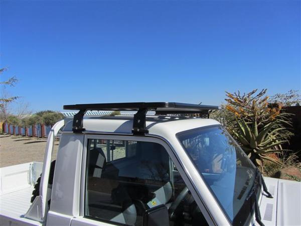 k9 toyota landcruiser 70 series single cab rack 0 9m