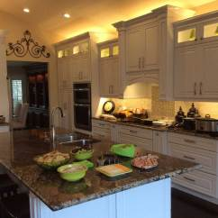 Led Tape Kitchen Swags Residential Strip Lighting Projects From Flexfire Leds Above Cabinet Under