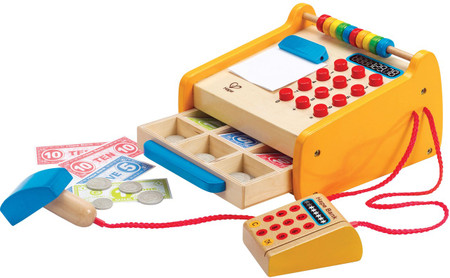 Hape Wooden Toy Cash Register On Sale Australia Wide