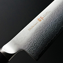 damascus kitchen knives buy cabinets chef miyako shikisai