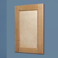 Unfinished Shaker Style Recessed Medicine Cabinet (14x24