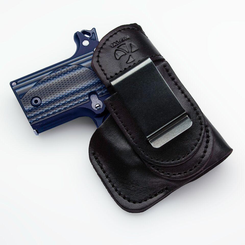 hight resolution of sig p238 tuckable iwb holster right hand black