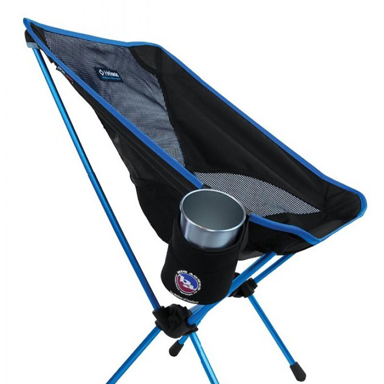 big agnes helinox chair adirondack covers logo camp drink holder black campman