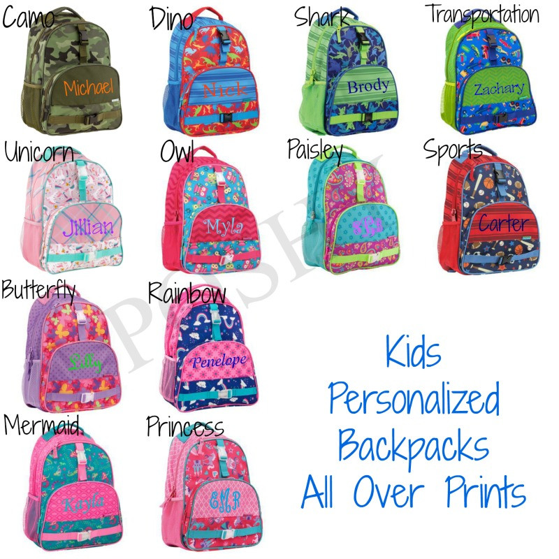 kids backpack kids personalized