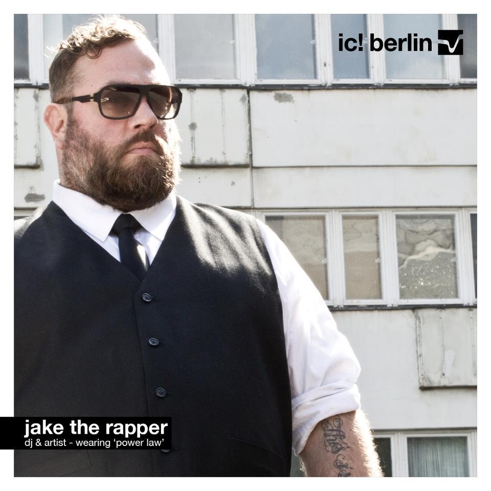 Jake The Rapper Ic Berlin Power Law Sunglasses