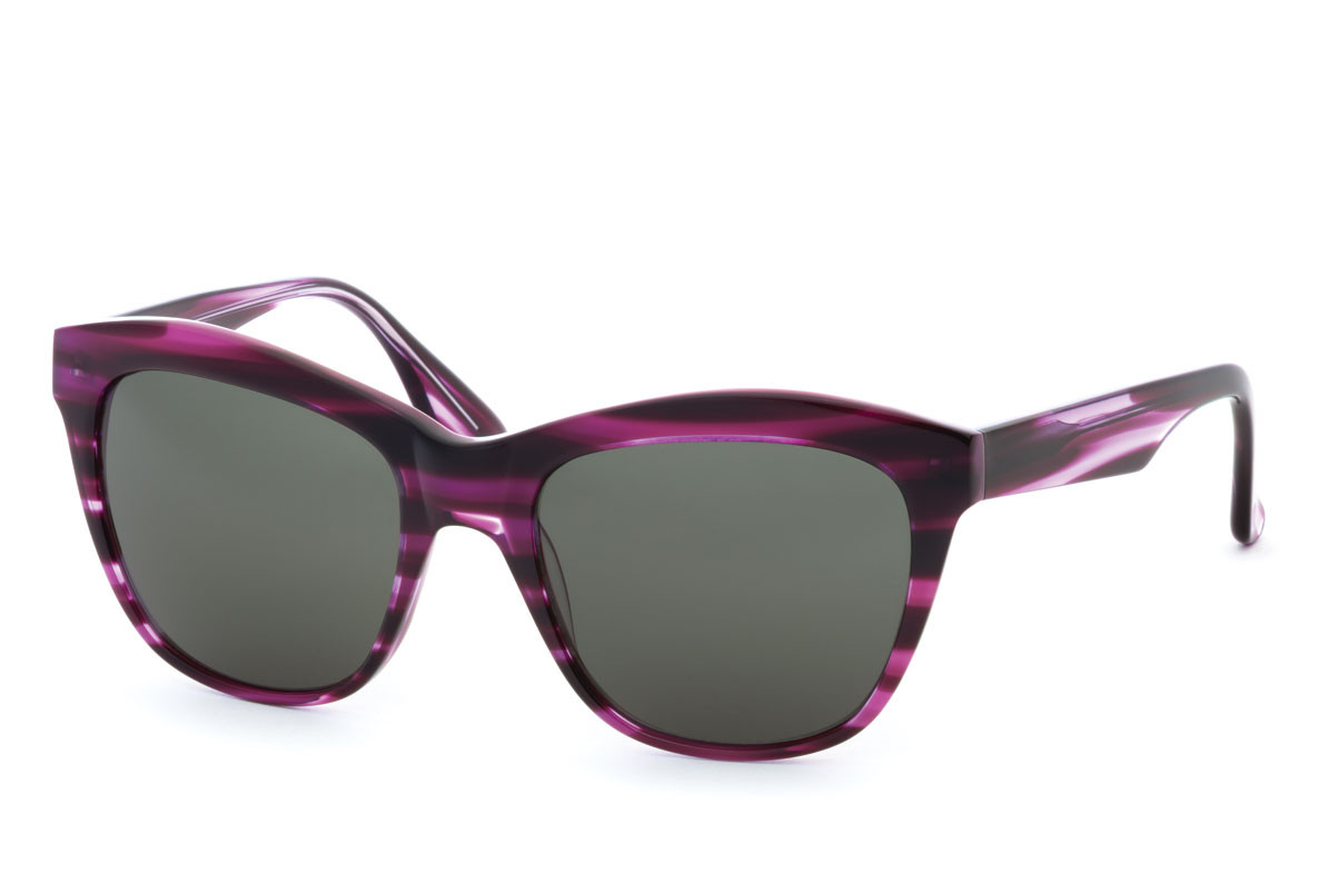 Hippolyta Bevel Sunglasses Collection Exclusive Eyewear