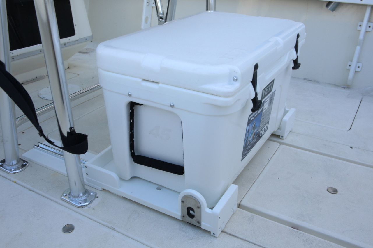 yeti chair accessories hanging bubble buy marine cooler slides for boats birdsall design