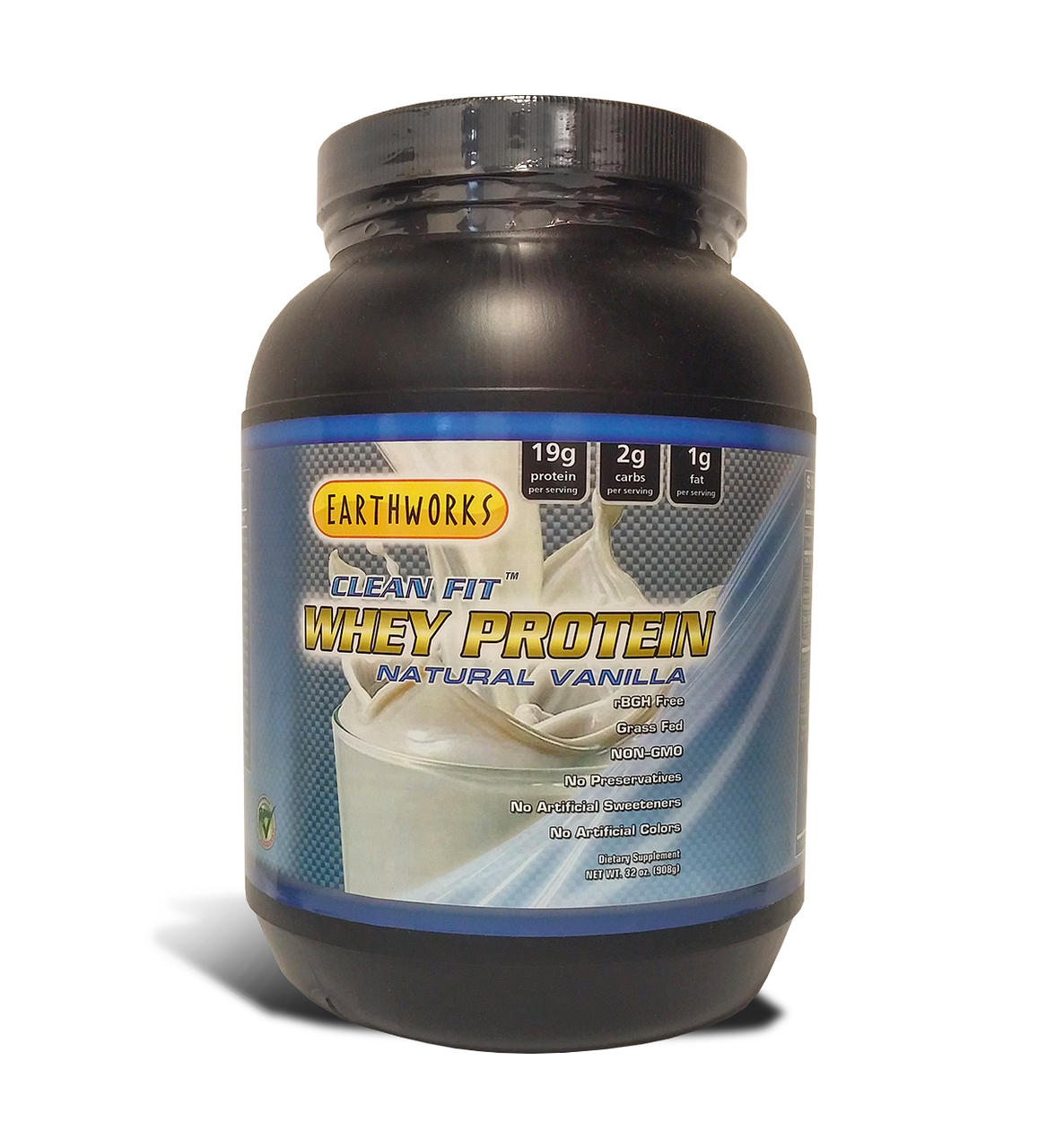 Dave Hawkins' EarthWorks EW Clean Fit Whey Protein ...
