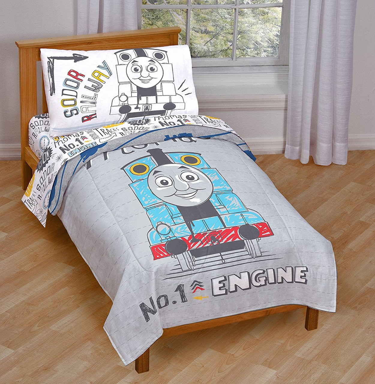 Thomas Tank Engine Toddler Bed Set 1