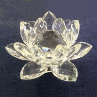 Crystal Lotus flower symbolizing purity and compassion | Ziji