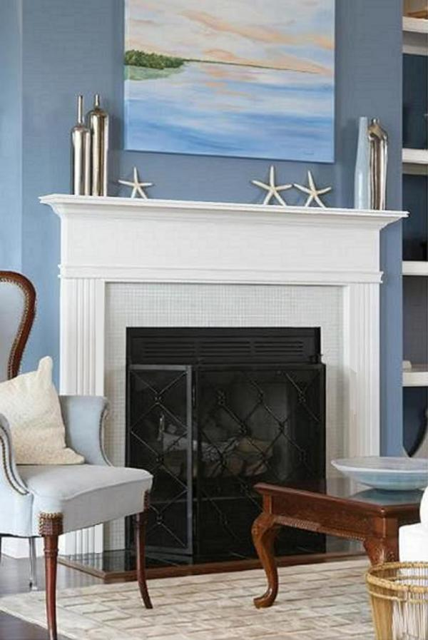 Contemporary Mantels Dress Fireplaces - Design Space
