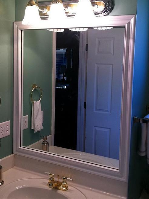 Bathroom Mirror Frames  Bathroom Mirror  Crown Molding  Mirrors  Chelsea Mirror Design