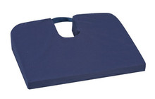 posture mate geri chair wooden adirondack sloping seat coccyx cushion navy blue color advantage medical