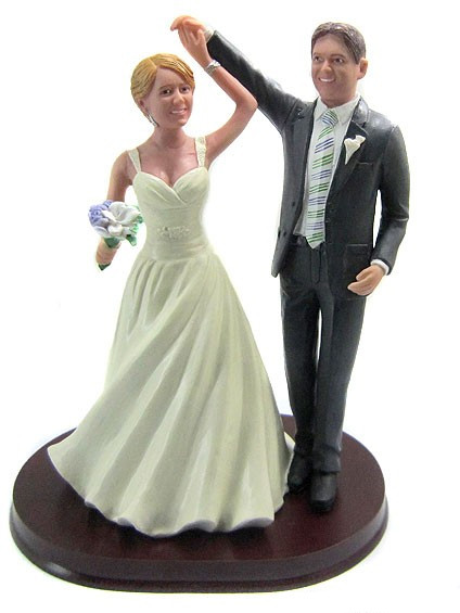 Ballroom Dancing Wedding Cake Toppers