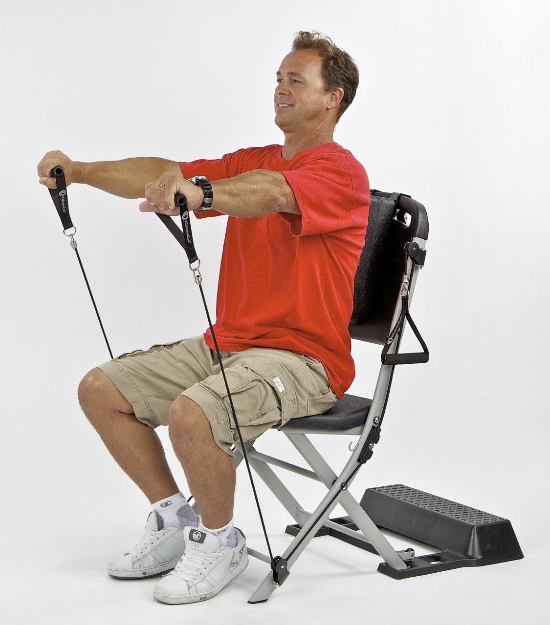 chair exercises on cable tv v rocker the resistance exercise system as seen larger more photos