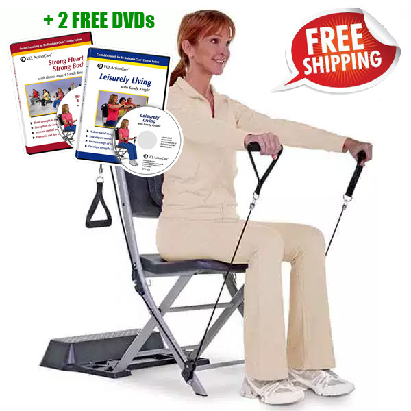 chair exercises on cable tv folding enclosure the resistance exercise system as seen larger more photos