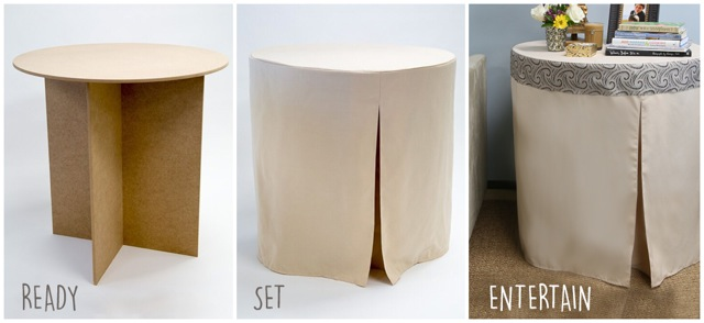 the fitted decorator table cover
