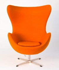 Replica Egg Chair Orange | Replica Arne Jacobsen Egg Chair ...