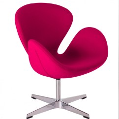 Pink Egg Chair Replica Hans Wegner Lounge Swan Arne Jacobsen