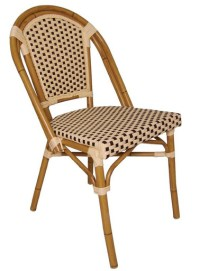 Paris Wicker Bistro Chair (Set of 4) - Stools & Chairs