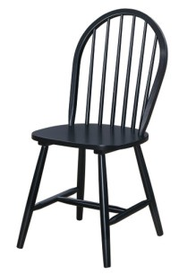 Classic Windsor Chair - Black. Only $99!! Brand New And In ...