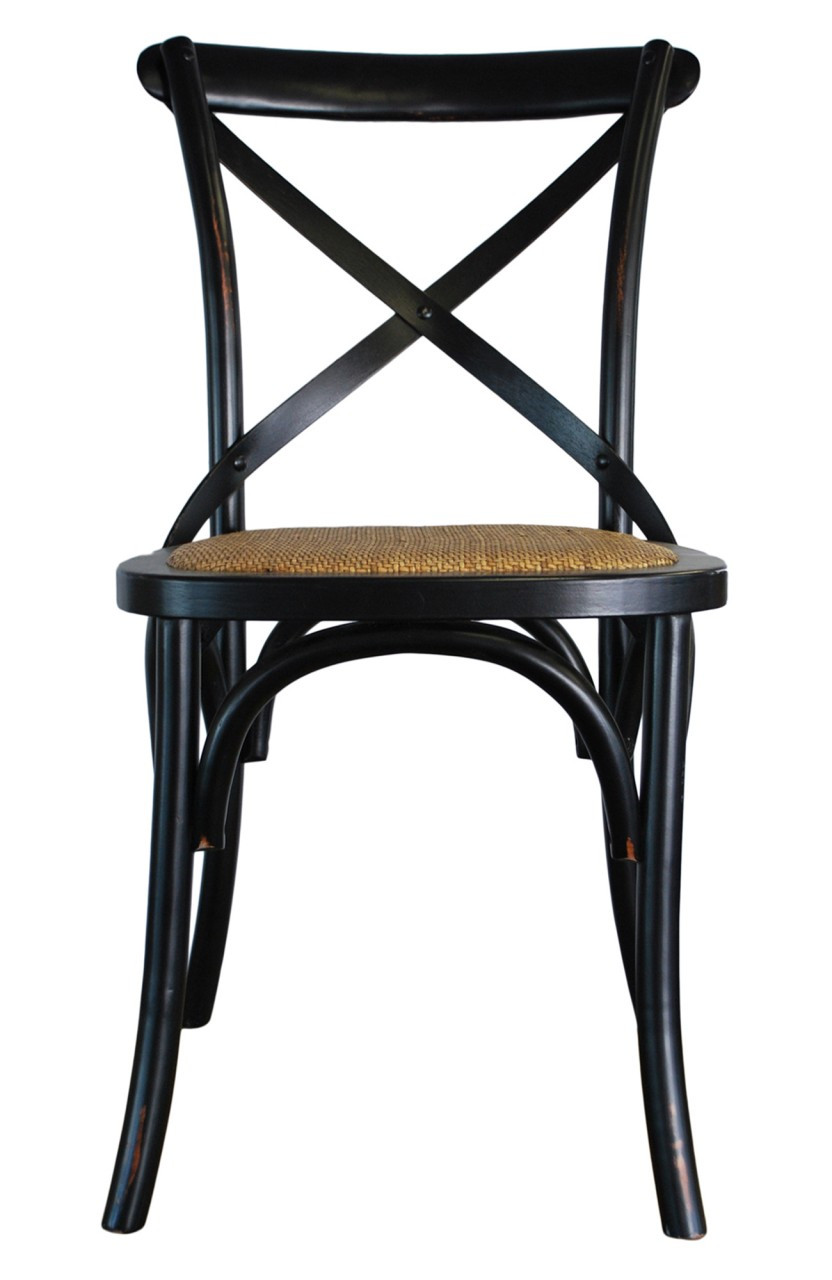black cross back dining chairs ergonomic chair kneeling provincial crossback 109 price 00 image 1