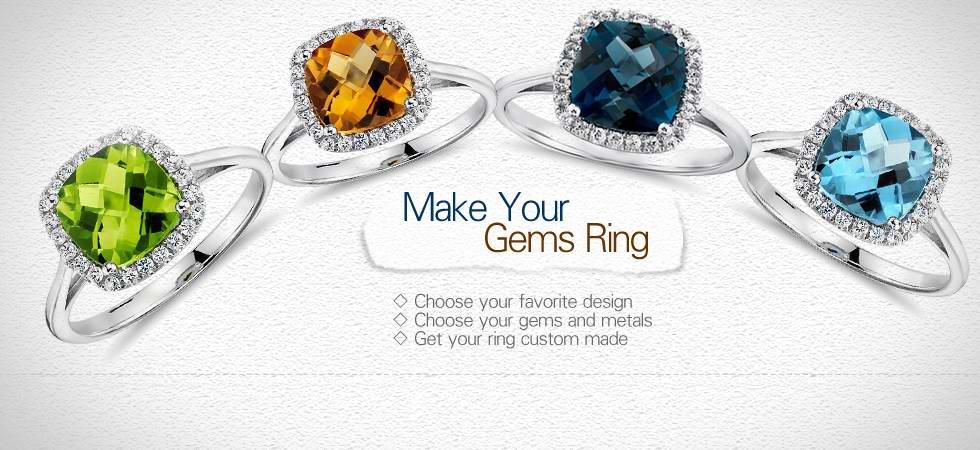 VogueGem Customized Jewelry Gemstone Jewelry
