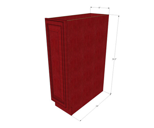 Grand Reserve Cherry Small Base Cabinet With Single 9 Inch Door