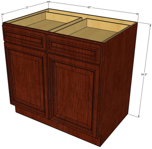 Brandywine Maple Large Base Cabinet with Double Doors