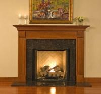 Wood Mantel Custom   Fireplace Surrounds   Franciscan ...