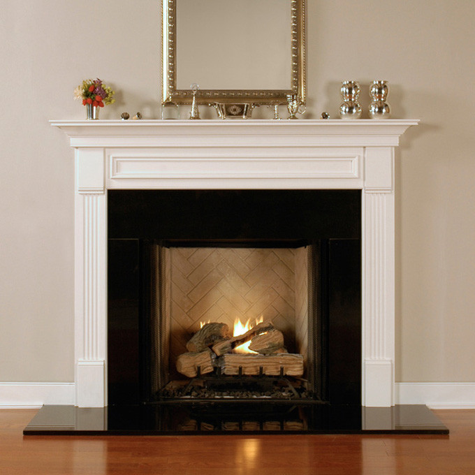 Wood Fireplace Mantels  Fredricksburg  Custom Mantels  MantelCraft