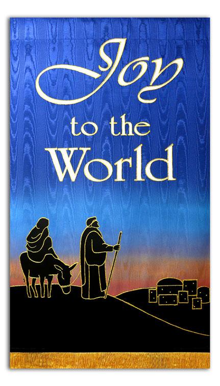 2014 Christmas O Come let us adore Him  Christian Banners