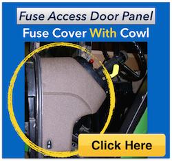 John Deere 4630 Fuse Box Fuse Access Door Panel John Deere 4055 4255 4455 4555