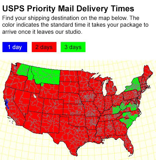 Usps Regular Mail Delivery Time