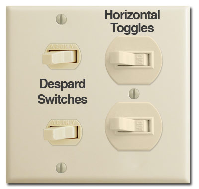 Despard Electrical Light Switches and Outlet Devices