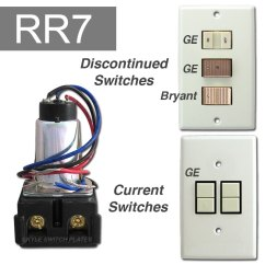 11 Pin Relay Socket Wiring Diagram 1997 Mitsubishi Mirage Stereo Ge Low Voltage Relays Remote Control Switches Transformers Info Rr7 Jpg