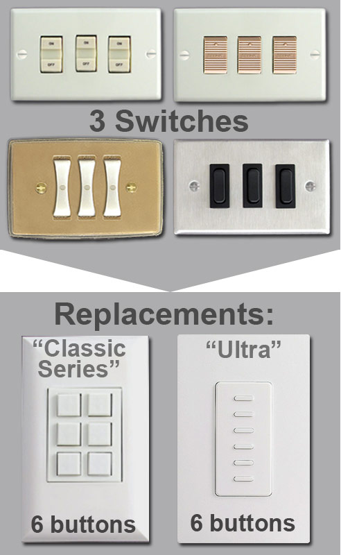 Low Voltage Light Switch : voltage, light, switch, Touch, Plate, Switches,, Voltage, Light, Switch, Plates,, Lighting, Parts