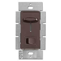 Brown Ceiling Fan Controller - 3 Speed with Light Switch