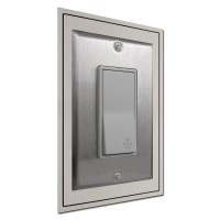 """Decorative 6"""" Tall Wall Plate Expanders for Light Switch"""
