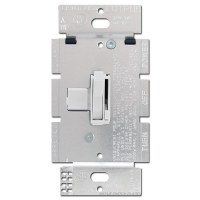 Toggle Light Dimmer Switch Lutron 1000 Watt - White