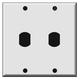 Double Vertical Switch Despard Wall Plate Covers