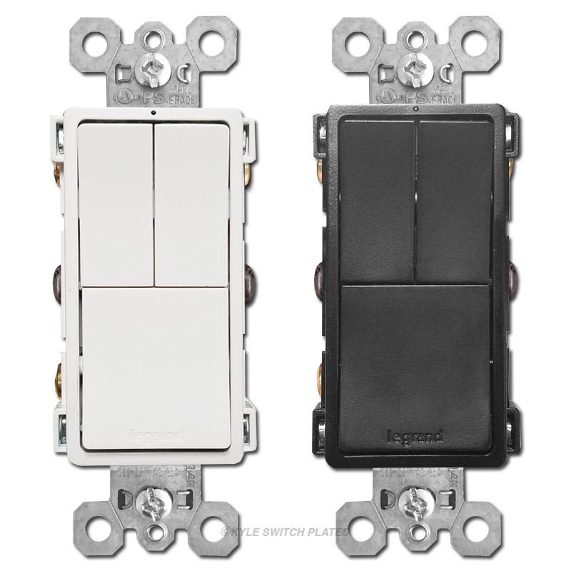 Triple 3 Way Light Switch