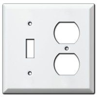 Deep Vertical & Horizontal 3 Toggle Switch Plate Covers
