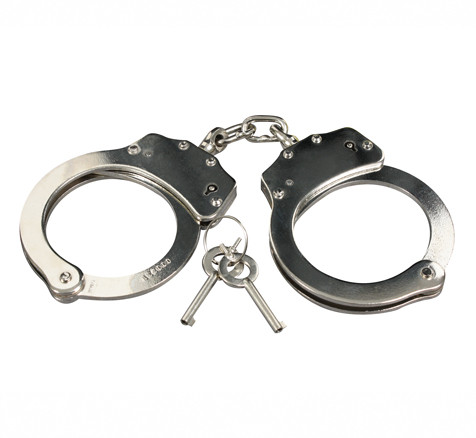 professional handcuffs nickel plated
