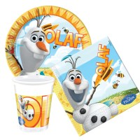 Party Bag Kids UK, Olaf on the Beach Party Tableware